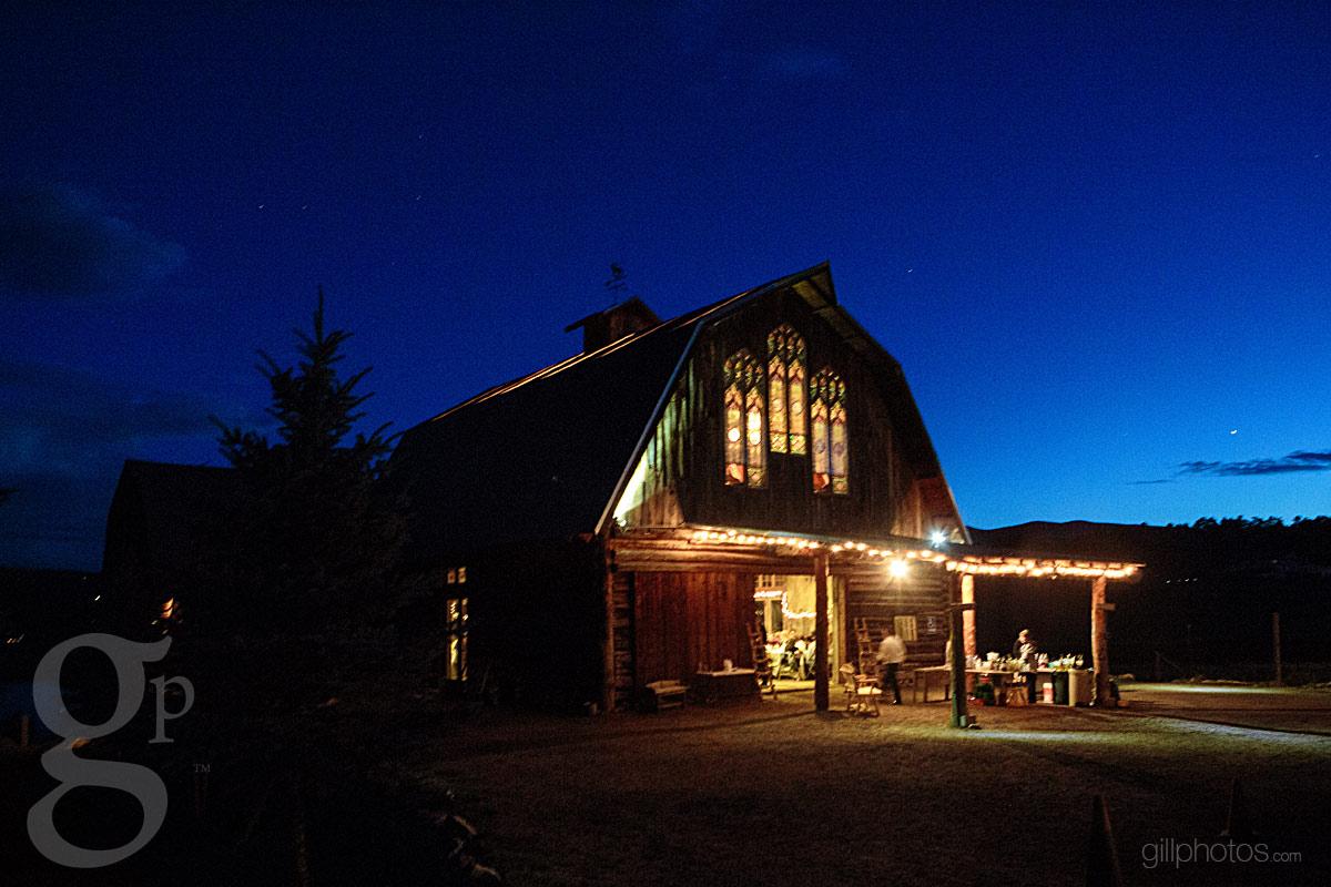 Clyde Amp Mollys Evergreen Barn Wedding