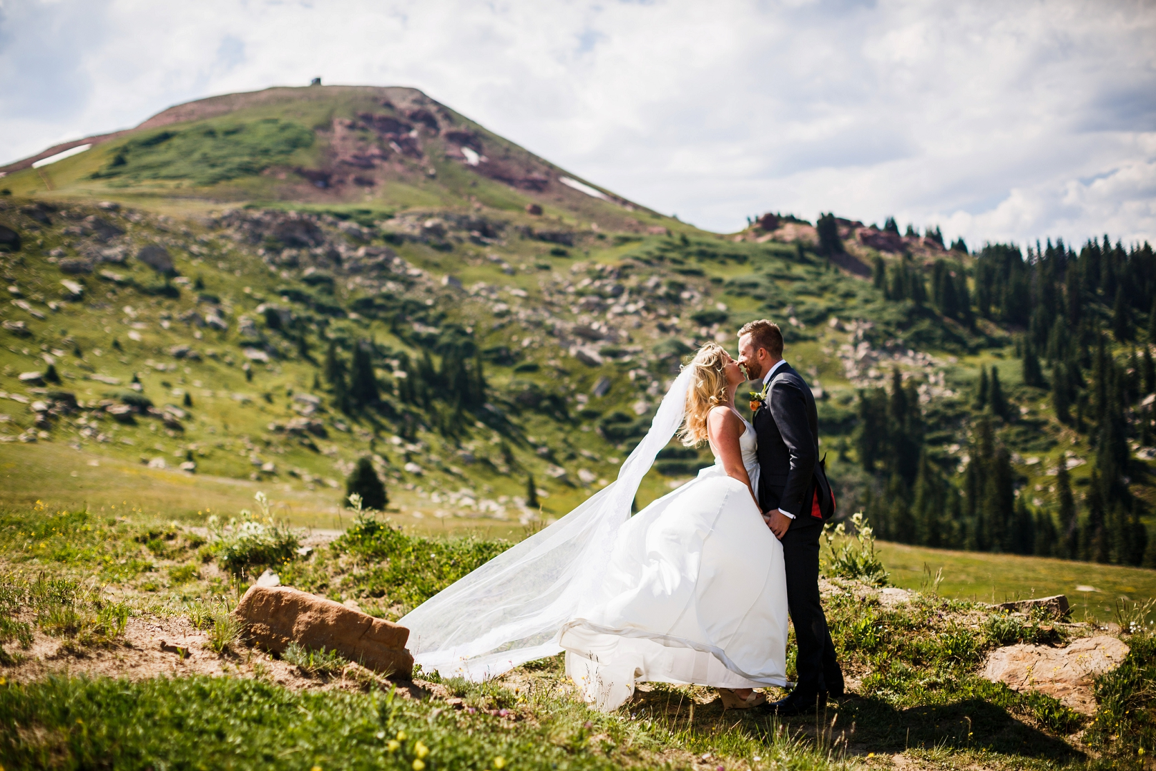Mark Amp Kate S Beautiful Camp Hale Wedding In Vail Colorado