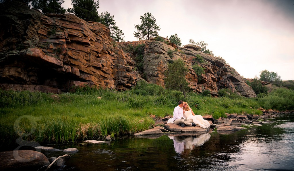 Hillary Amp Jimmys Trash The Dress In Westcliffe Top