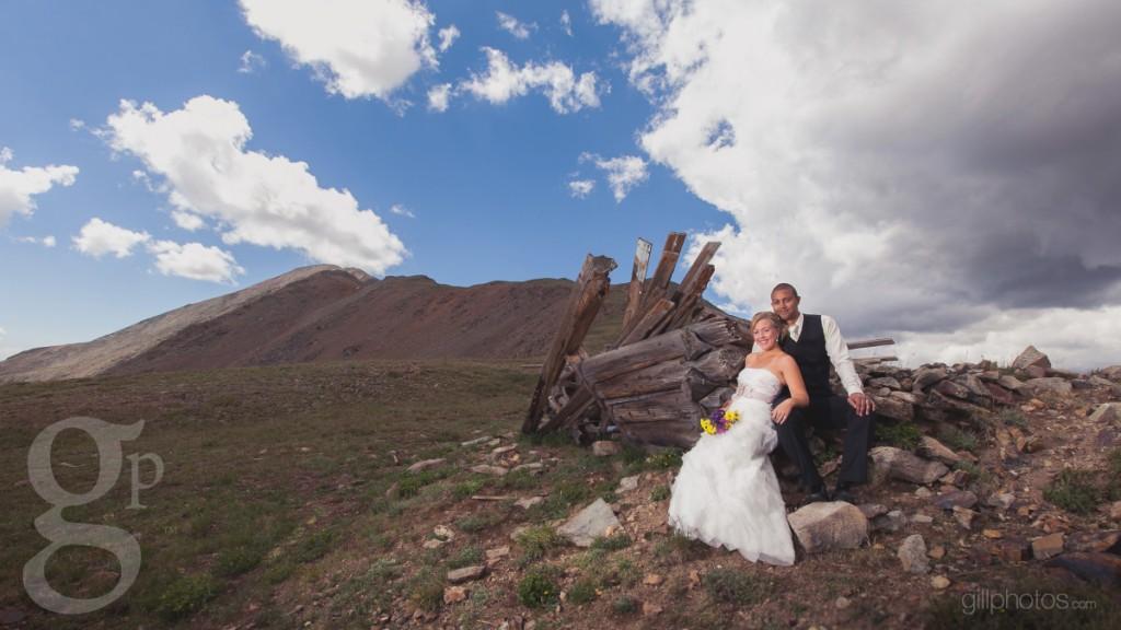 Rustic Mountain Wedding Photo