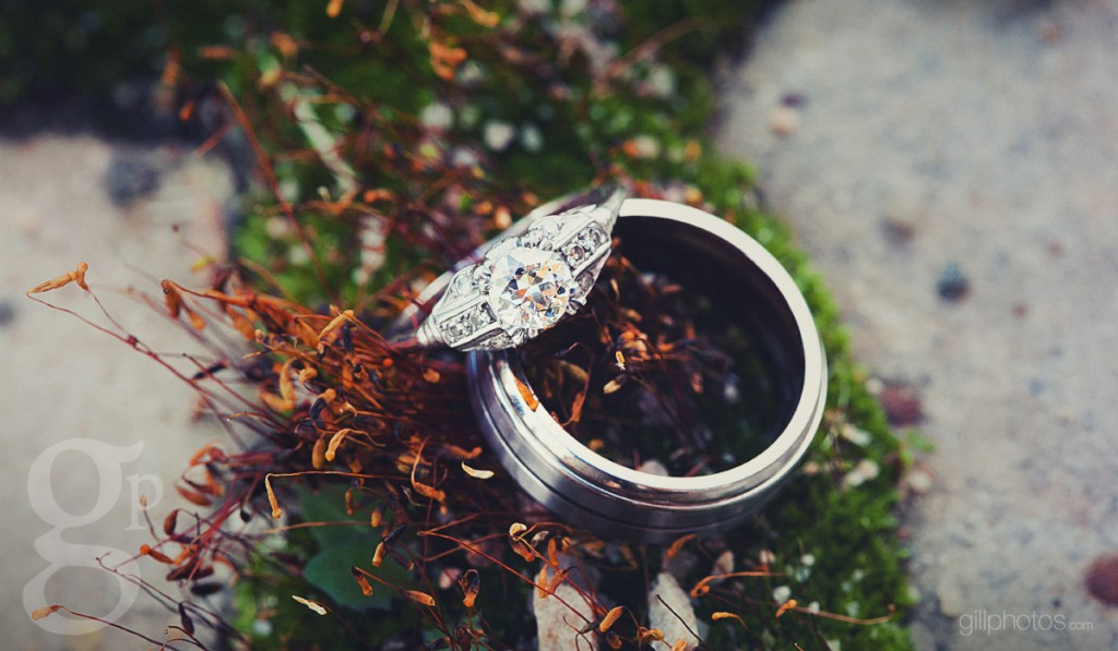 Wedding Ring Shot at Rubywood