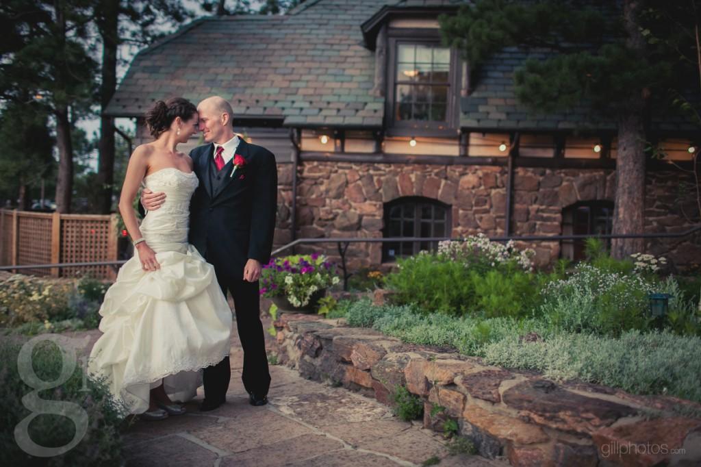 Wedding photos at Boettcher Mansion
