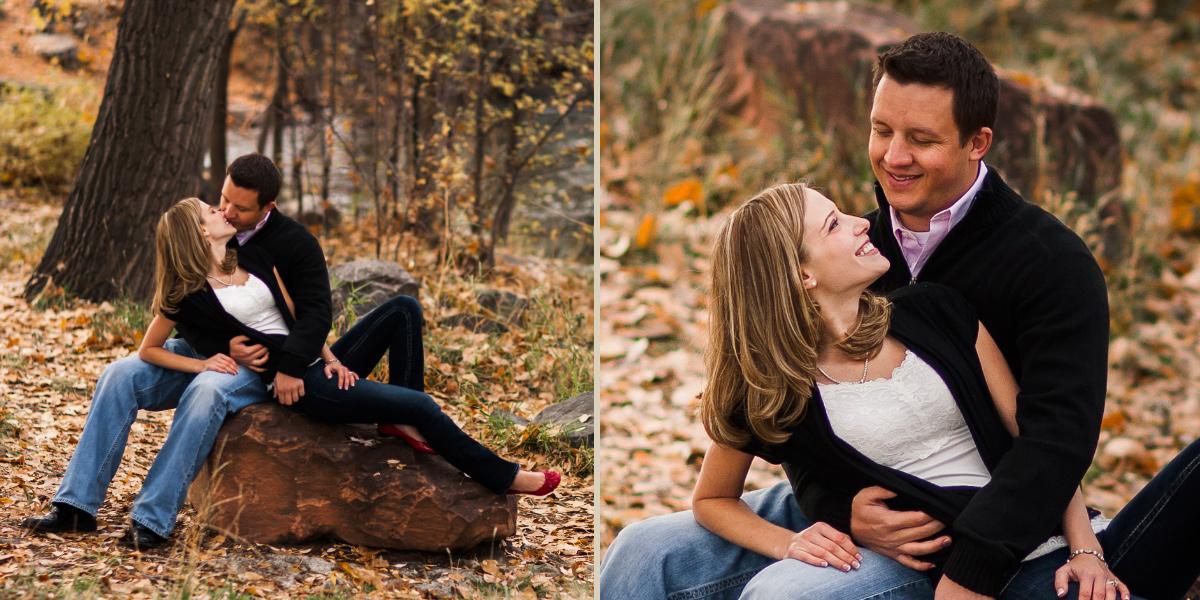 Josh Amp Michelle S Engagement In Loveland Co Top