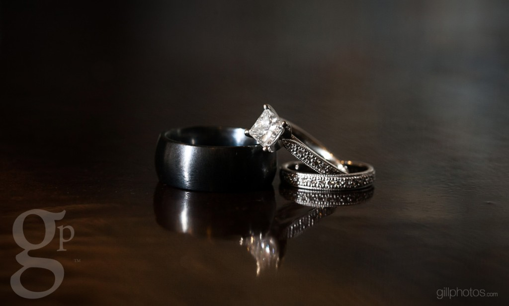 Wedding rings at Mile High Station