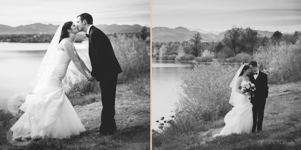 Wedding photos at Sloan's Lake