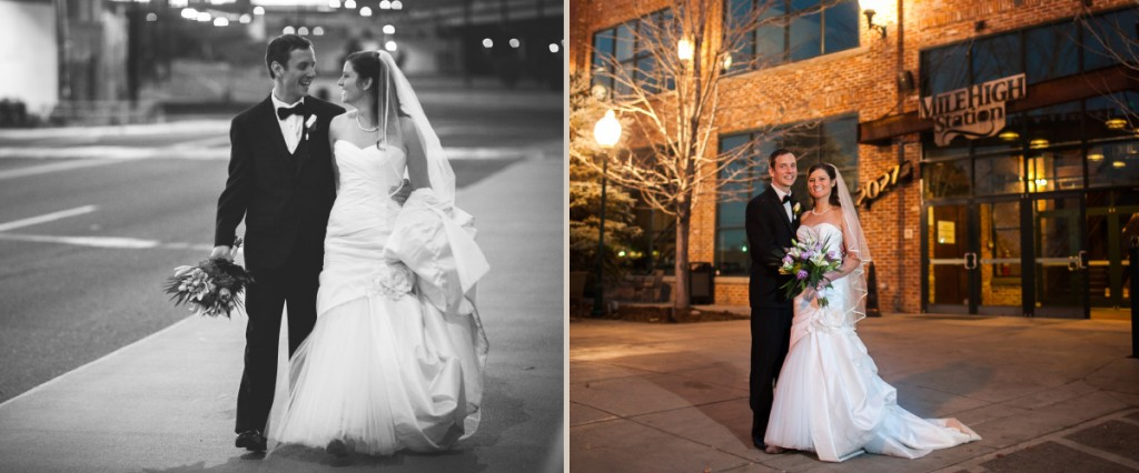Mile High Station wedding reception