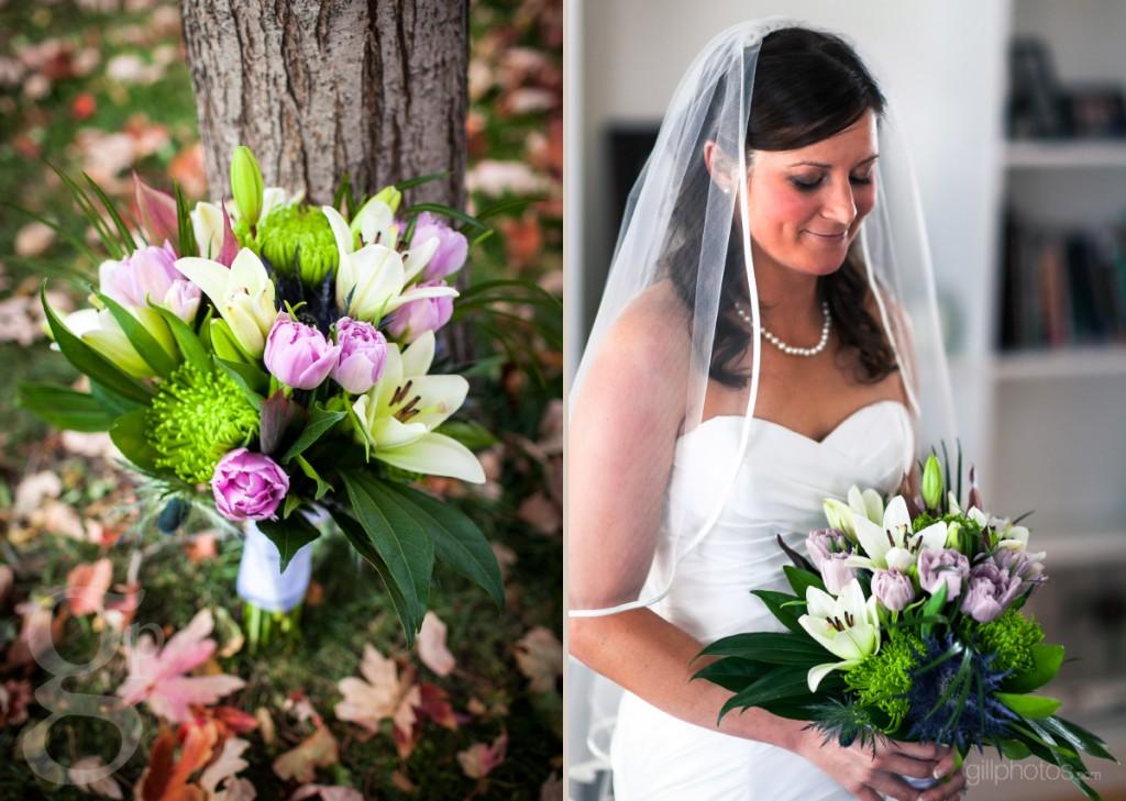 Bride's bouquet of flowers
