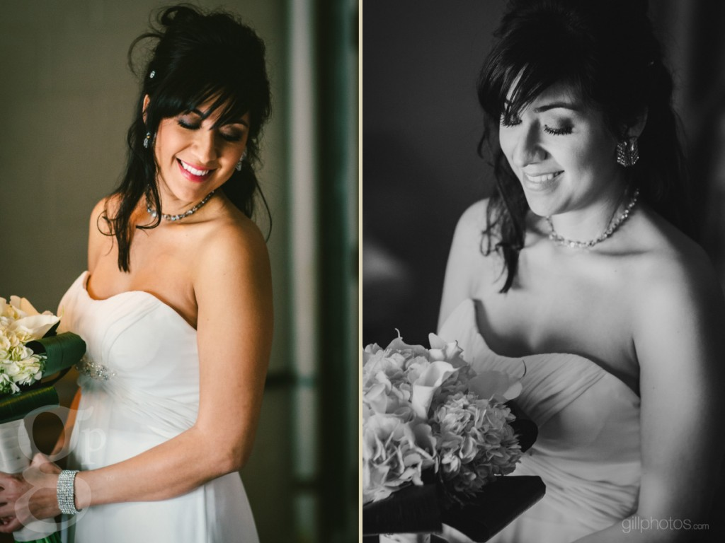 Bride getting ready at The Sanctuary in Denver