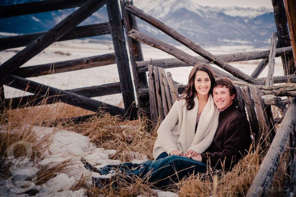 Westcliffe CO Engagement Photos