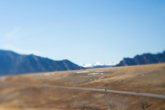 Tilt Shift Photography Example 4
