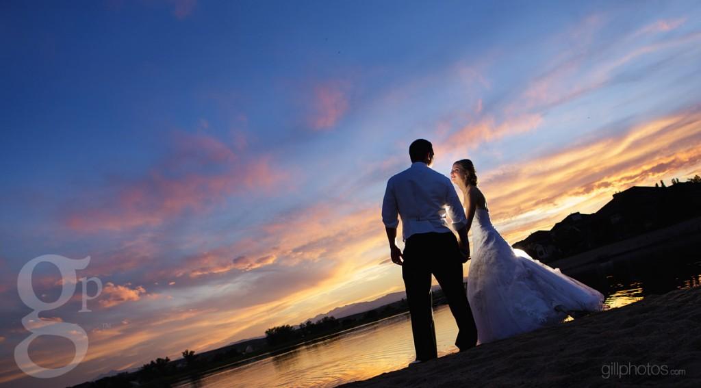 Lake House Wedding Photo