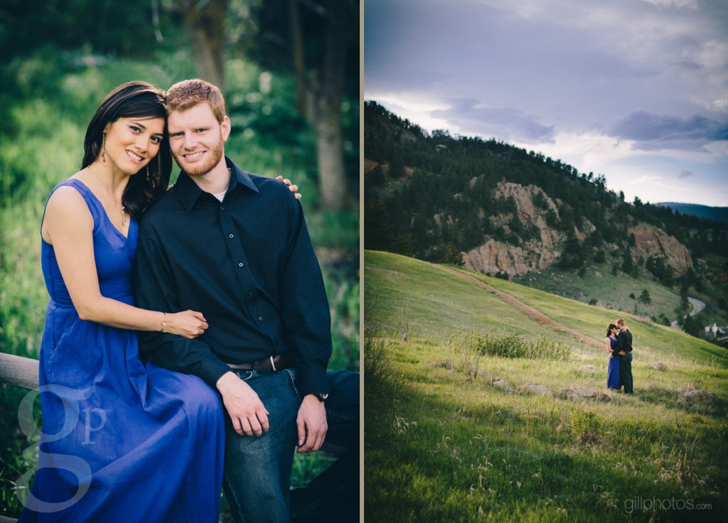 Flatirons Engagement Photo Shoot