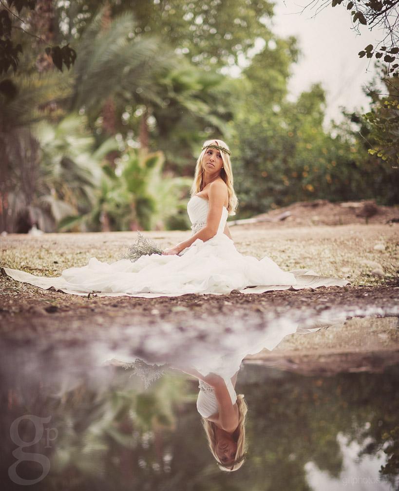 Stylized Bridal Shoot at Nursery in Mesa, AZ