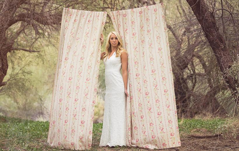 Wedding Gowns Az: Stylized Bridal Shoot In Mesa, AZ