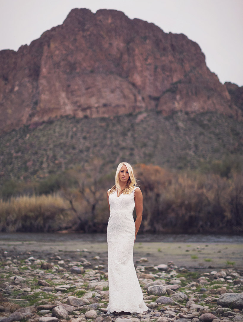 Salt River Stylized Bridal Session in Arizona