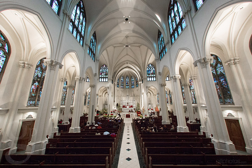 Cathedral Basilica of the Immaculate Conception Wedding