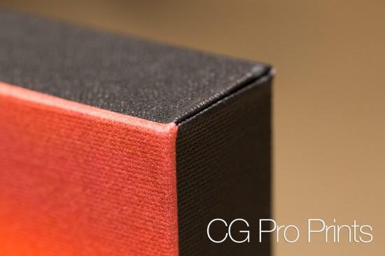 CG Pro Prints Gallery Wrap