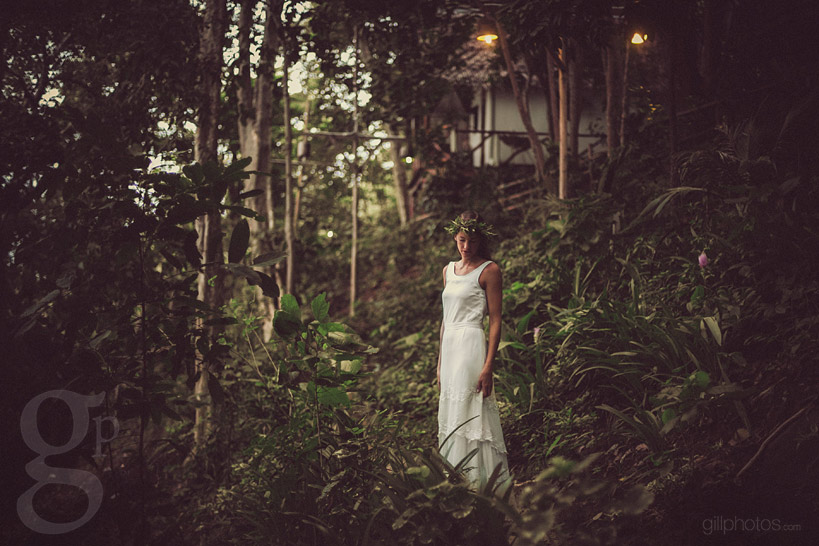 Wedding Dress Model in Thailand