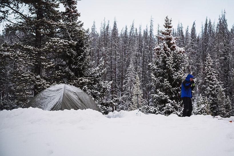 Winter Camping Photography - Top Colorado Mountain Wedding ...