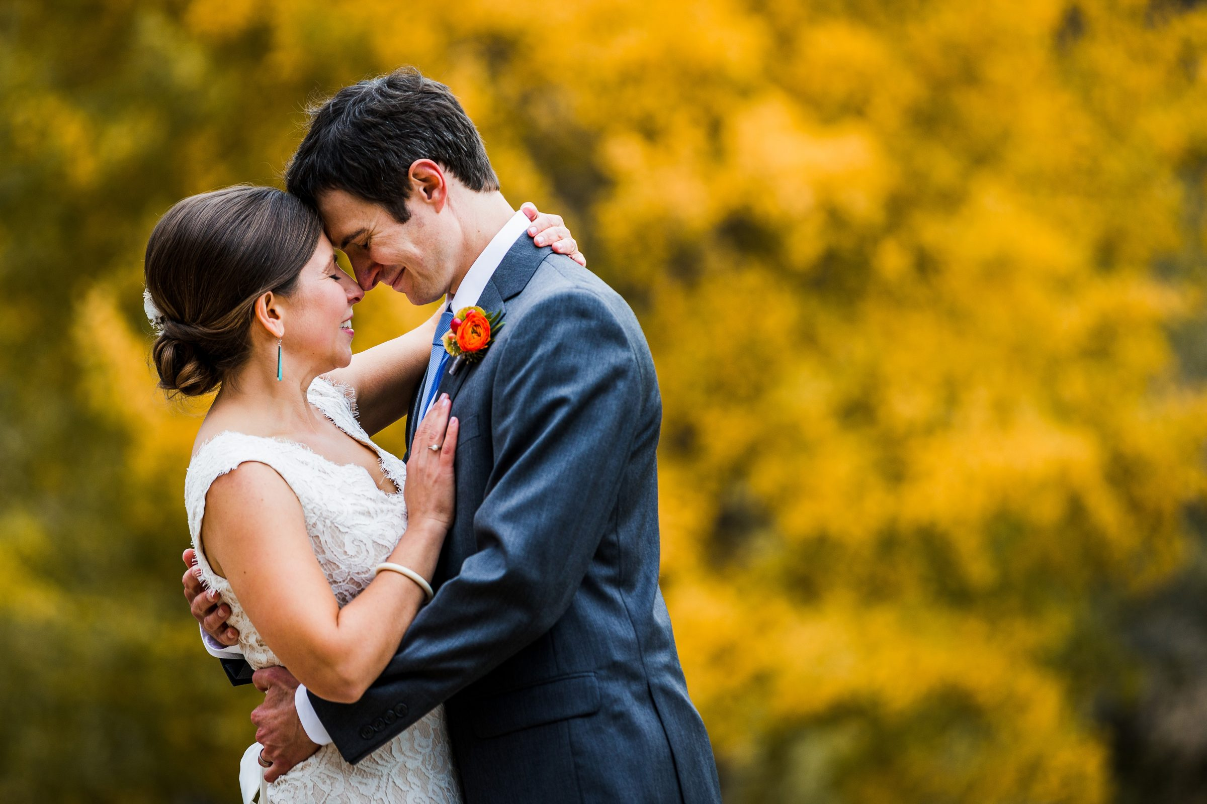 Fall Wedding in Estes Park CO