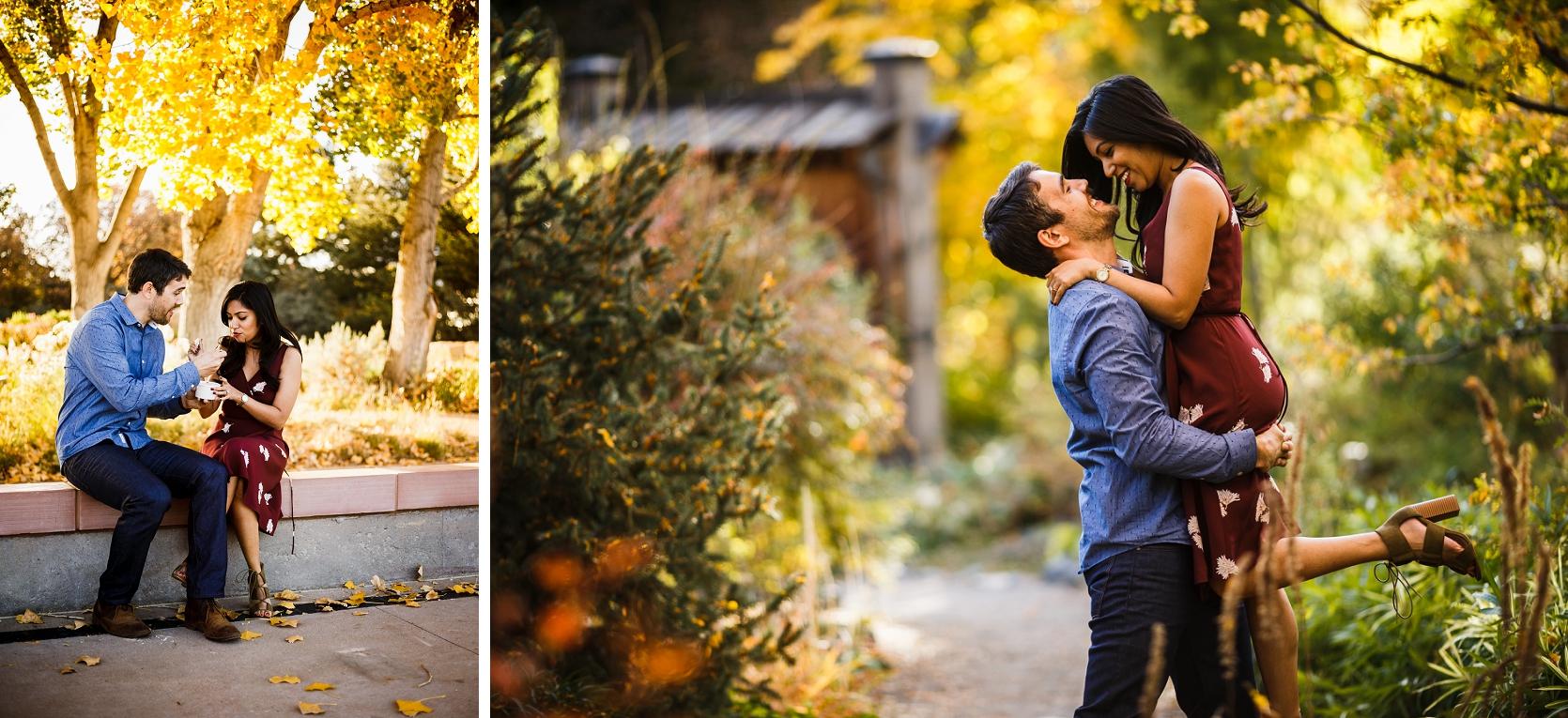 David & Tanzira\'s Denver Botanic Gardens Engagement - Top Colorado ...