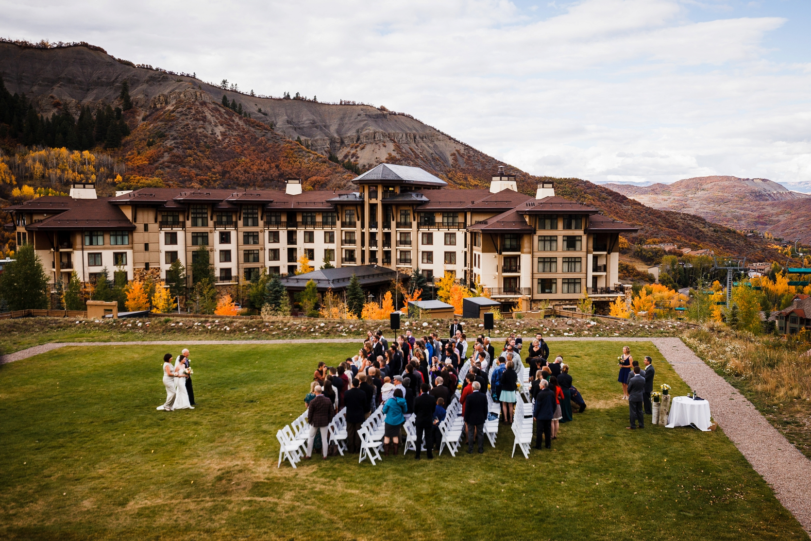 Jake Amp Jen S Viceroy Snowmass Wedding Top Colorado