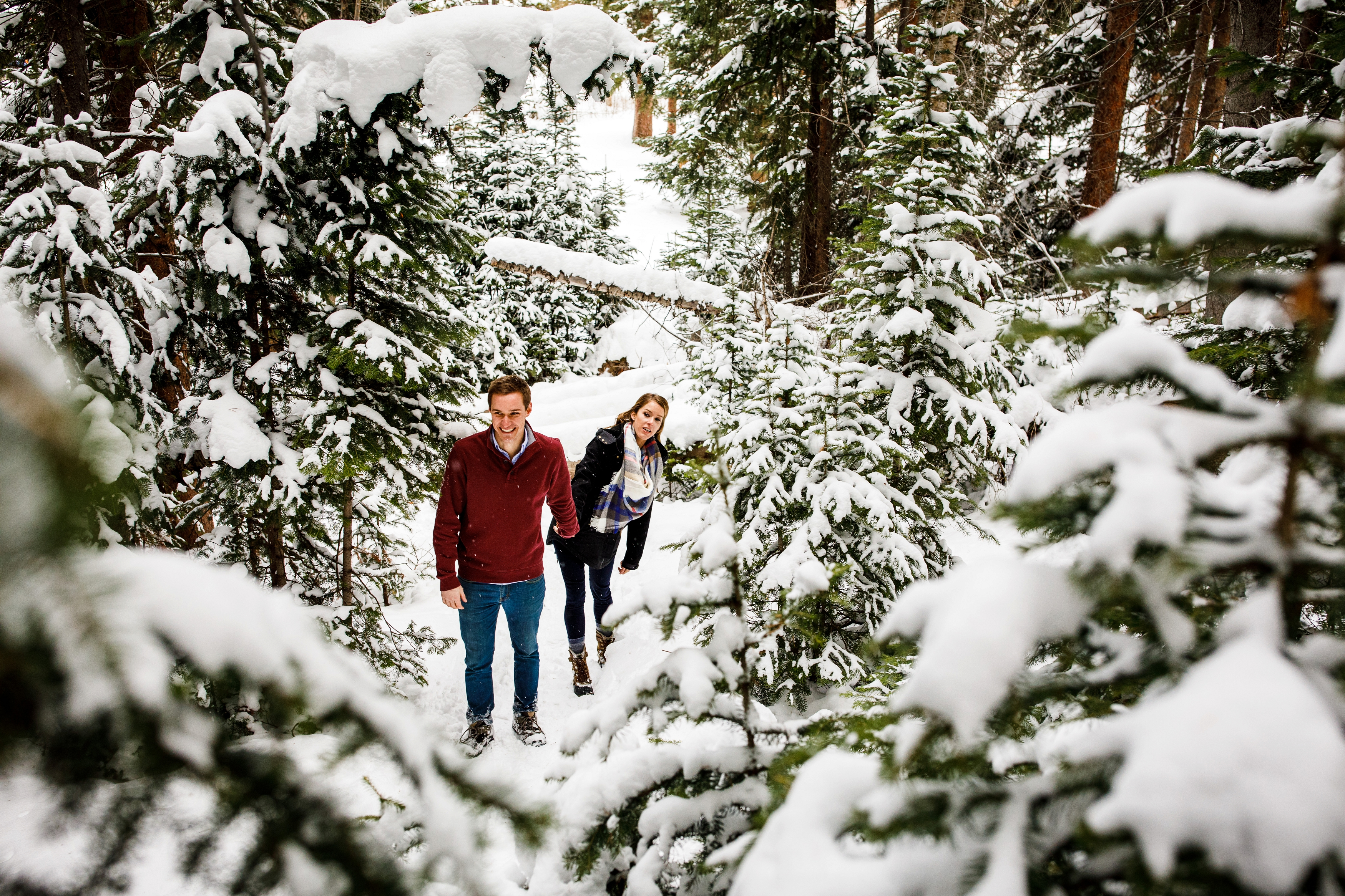 Breckenridge Winter Engagement