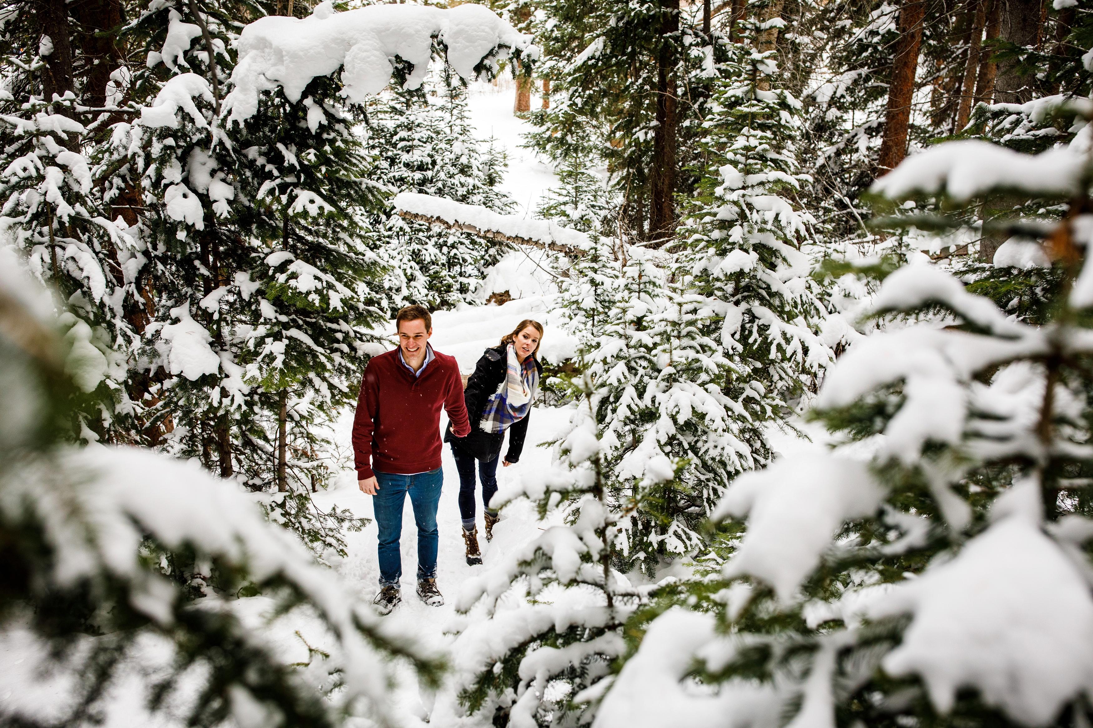 Breckenridge Winter Engagement