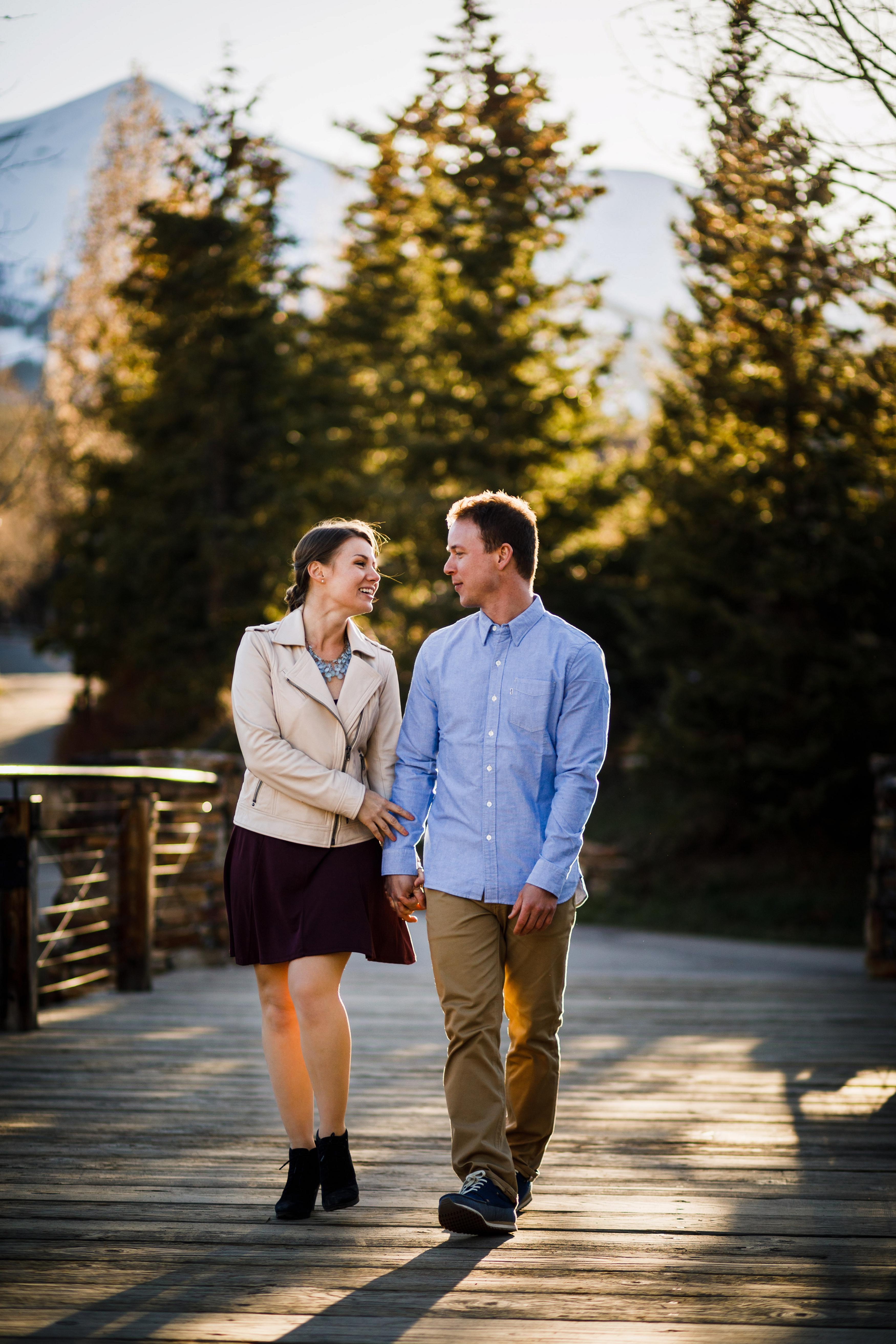 Spring Breckenridge Engagement