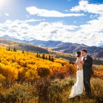 Fall Wedding Photo in Snowmass_CO