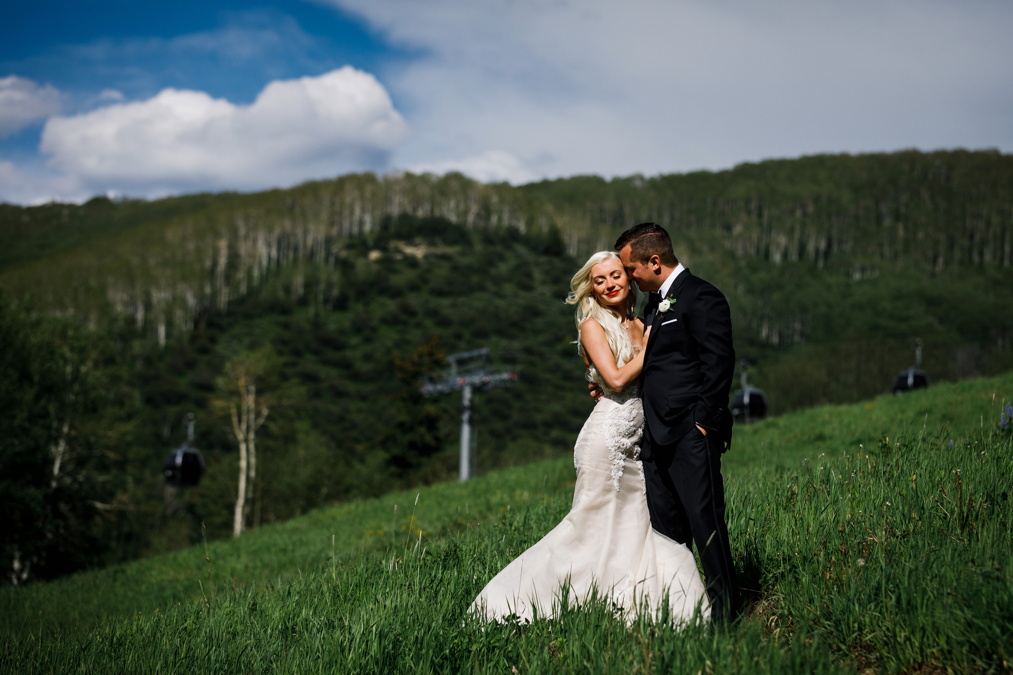 Beaver Creek wedding photos in June