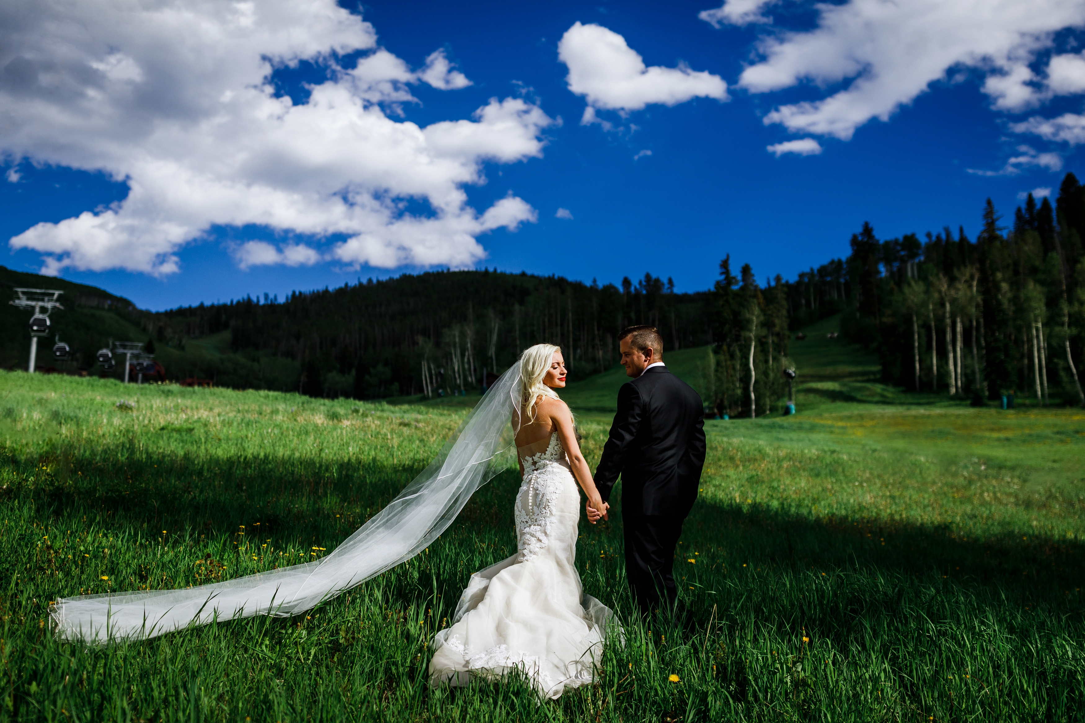 Park Hyatt Beaver Creek Wedding Picture