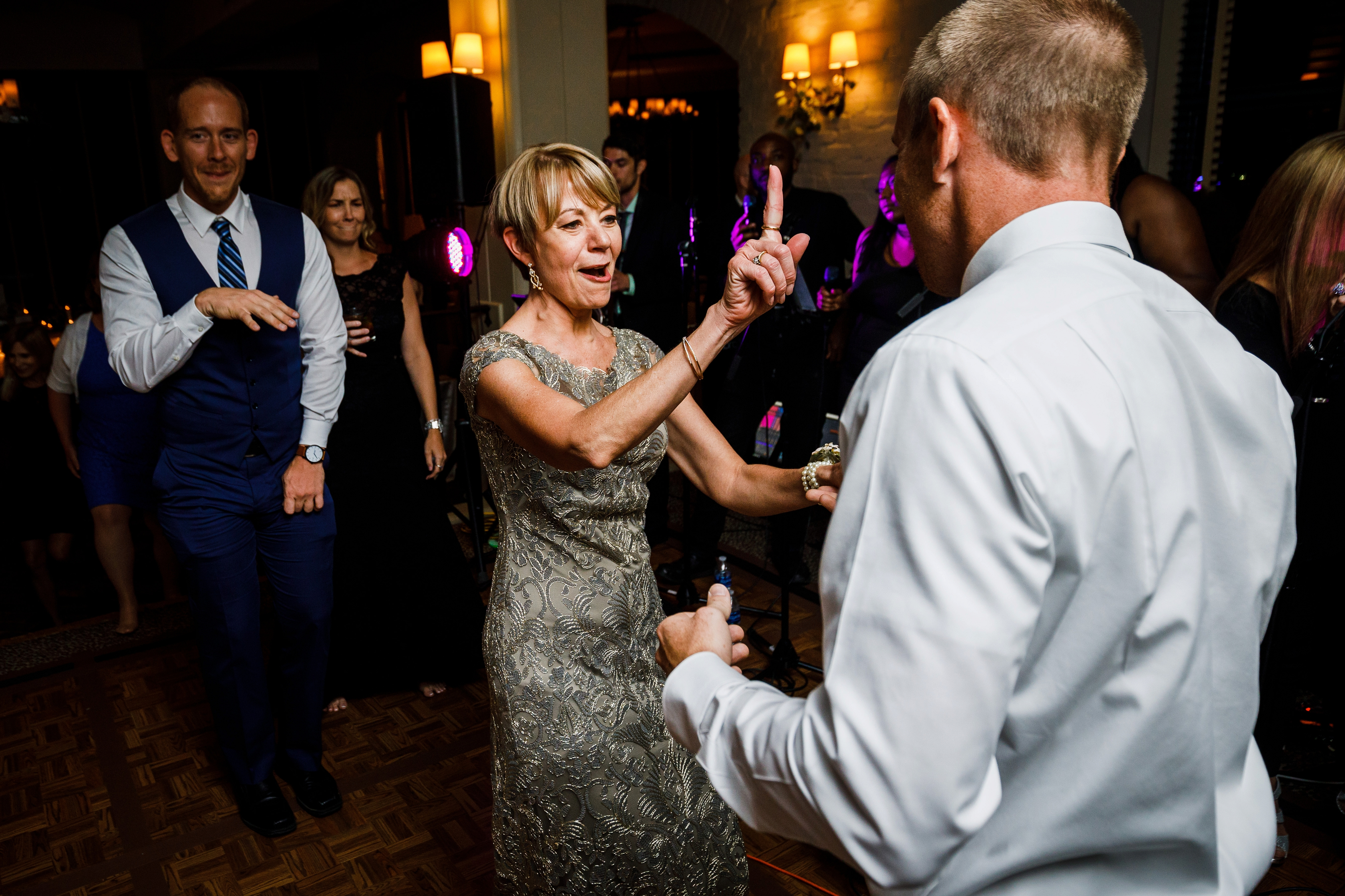 Wedding dancing at Park Hyatt in Beaver Creek