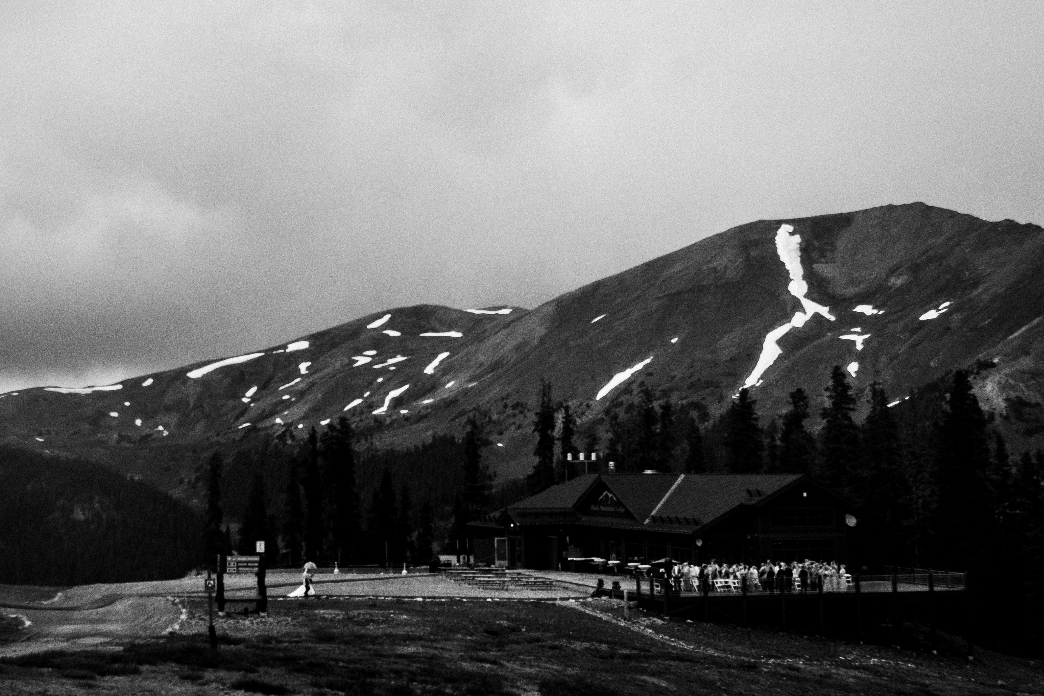 Arapahoe Basin Summer Wedding