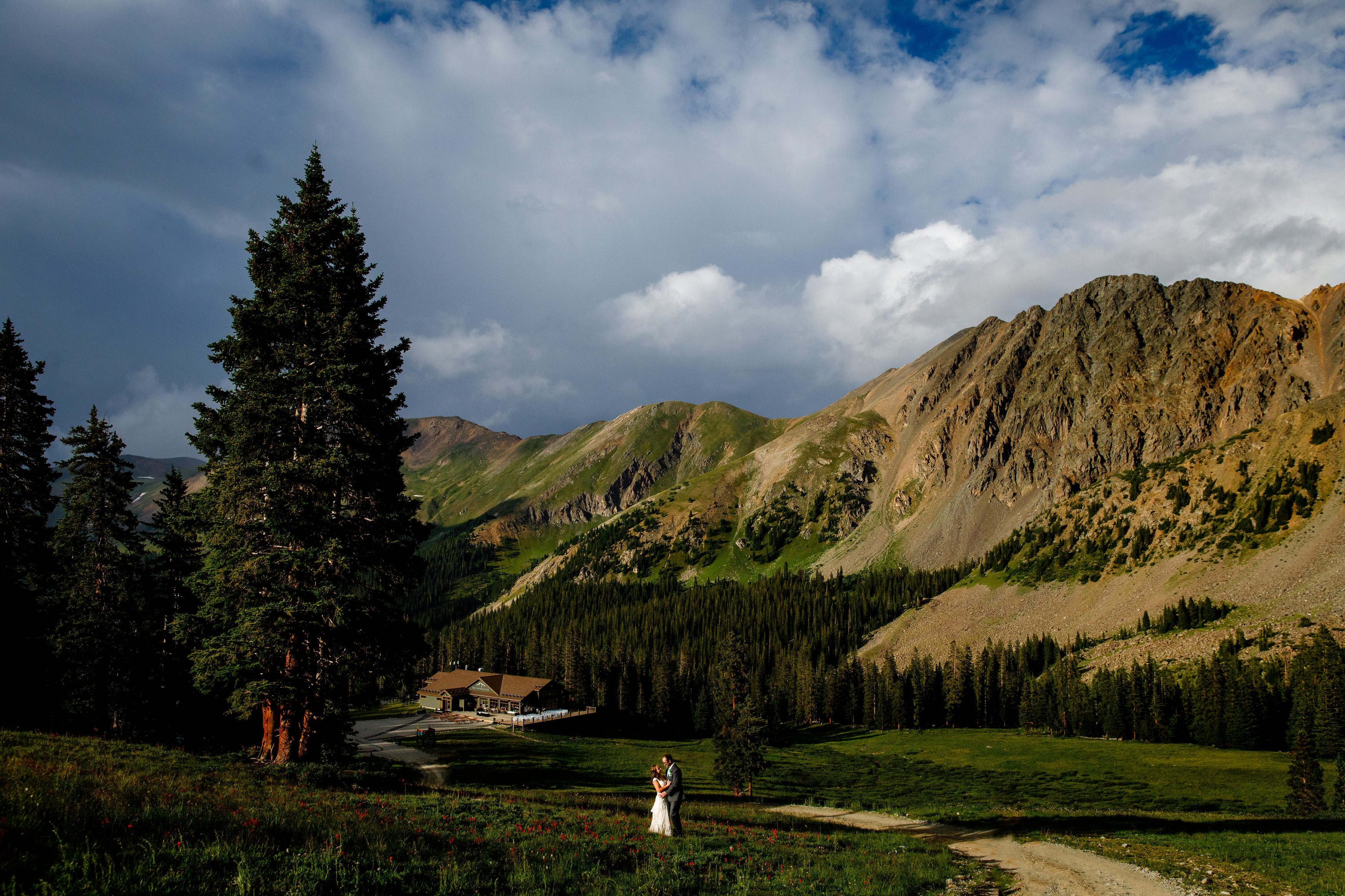 Black Mountain Lodge Wedding in Keystone, CO