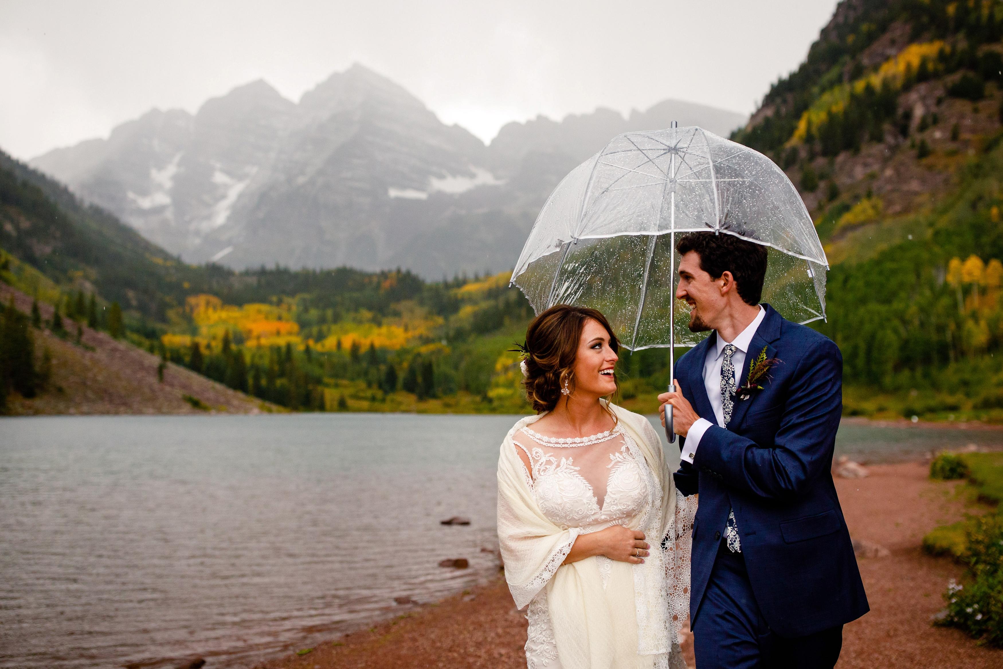 Griffin Autumn S Maroon Bells Wedding Top Colorado