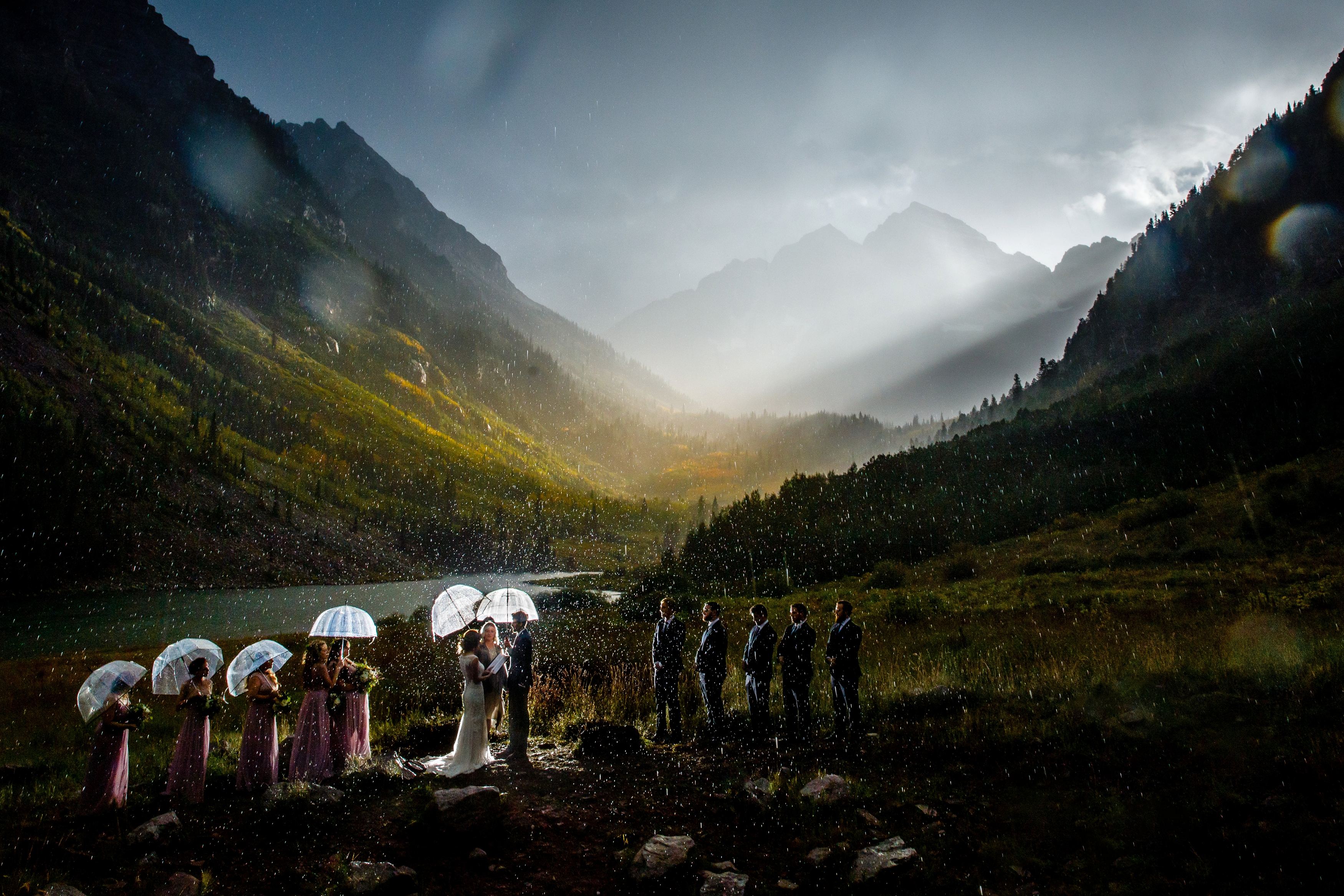 Maroon Bells Wedding in Aspen, CO.