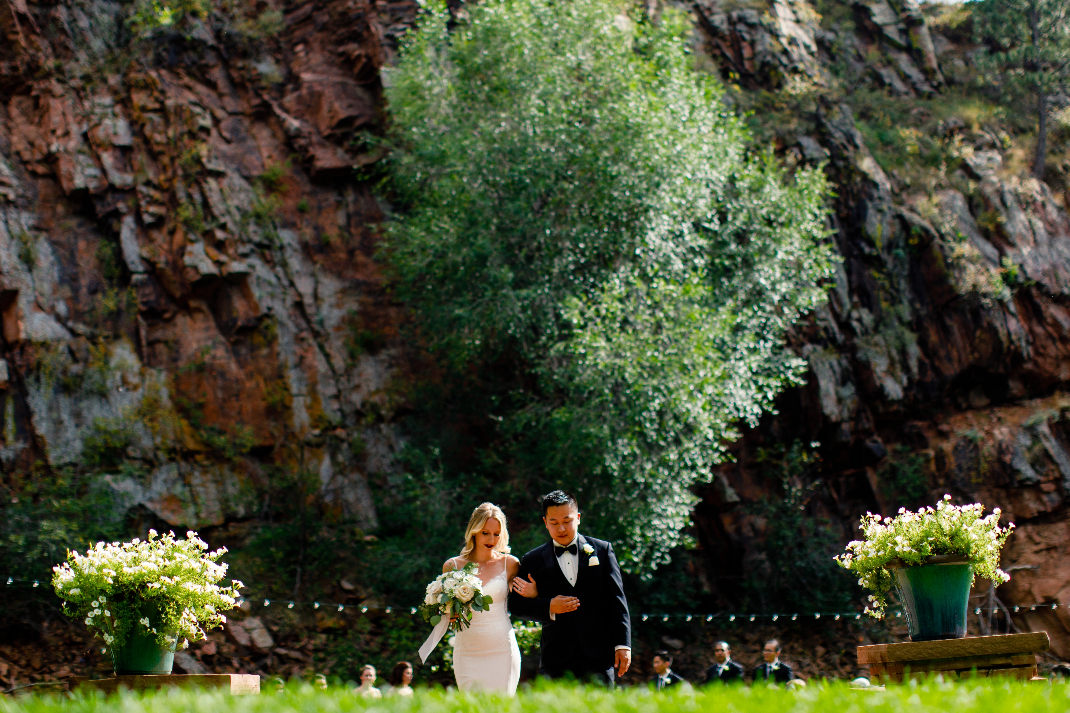 The River Bend Wedding Venue in Lyons CO is a beautiful, quaint location.