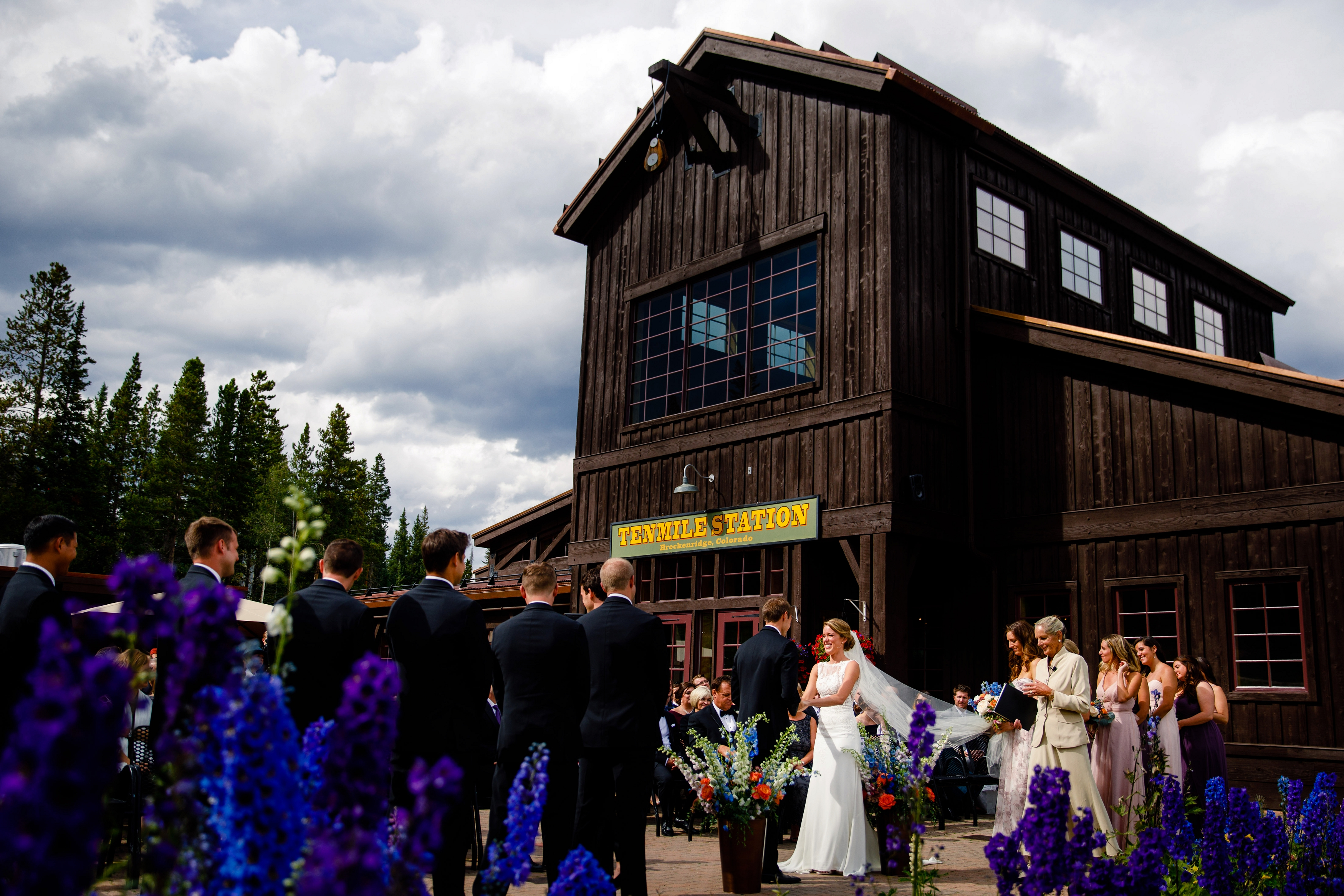 A Tenmile Station Breckenridge Wedding which took place in August of 2017