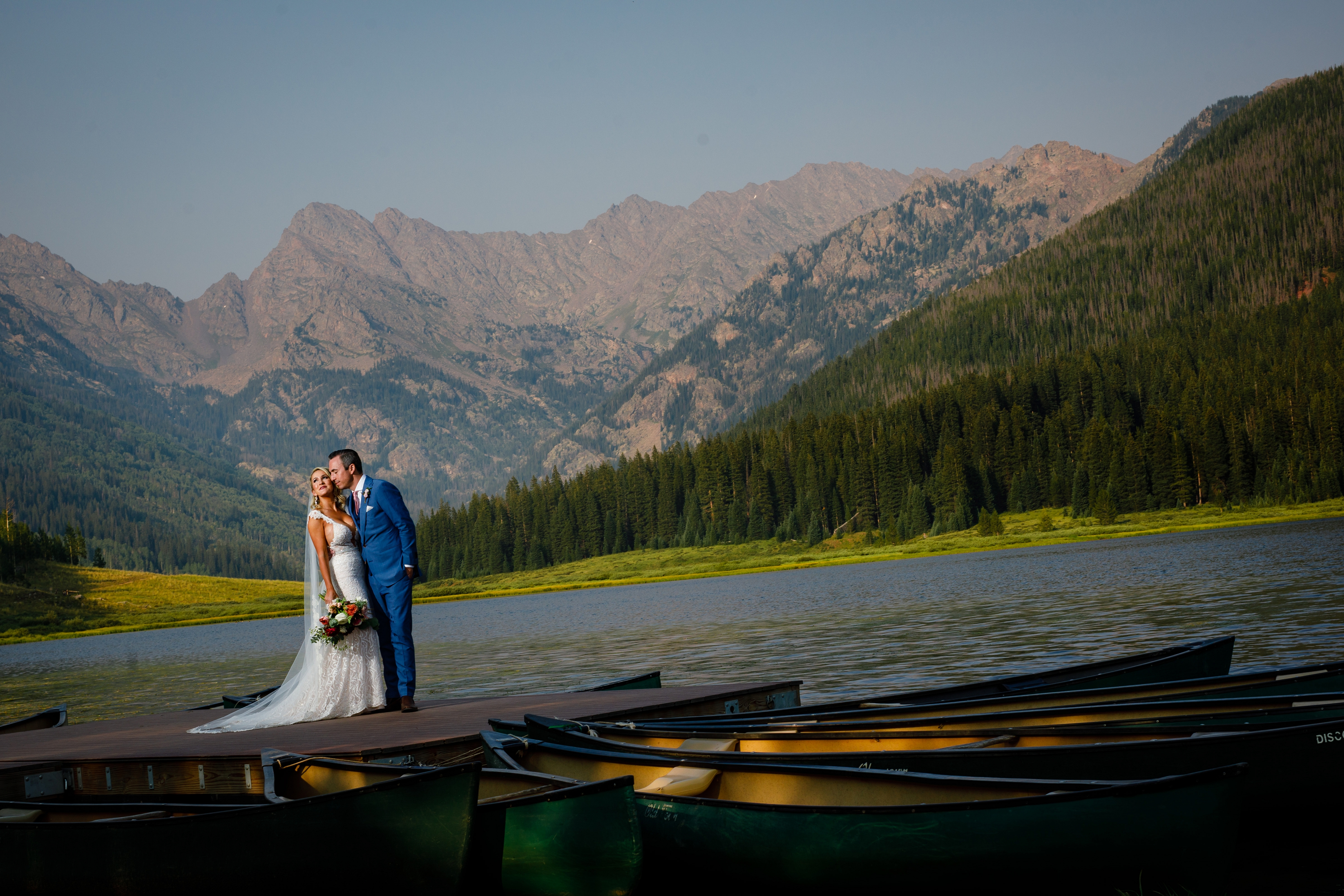 One final portrait from a beautiful Summer Wedding at Piney River Ranch near Vail, CO.